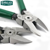 Wholesale LAOA Brand Pliers High Quality CR V Diagonal Pliers Electrical Wire Cutting Side Snips Flush Plier