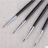 art brush strokes - Painting supplies arts tools Manicure high grade nylon hook line drawing pen pencil line hand painted strokes