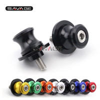 Wholesale For BMW S1000RR HP4 S1000R S1000XR Motorcycle CNC Aluminum Swingarm Spools Slider Stand Screws M8