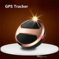 achat en gros de suivi gps mini-personnel-Mini personnel GPS T8 Tracker Portable voiture Tracker GPS GSM GPRS en temps réel Tracking Device Tracker étanche FreeDHL