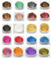 Wholesale g Healthy Natural Mineral Mica Powder DIY For Soap Dye Soap Colorant makeup Eyeshadow Soap Powder Skin Care
