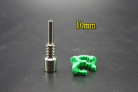 Wholesale Titanium Nail Grade Ti Nail Gr2 Tips Fit mm mm mm Nectar Collector Kits Glass Pipes DHlL Free