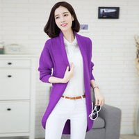 Wholesale The spring and autumn period and the bigger sizes in the women s coat han edition qiu dong joker show thin long cardigan sweater knitting th