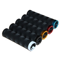 barres en caoutchouc achat en gros de-VTT Mountain Bike Handlebar Grips confortable Soft Rubber Bar à vélo Soft Rubber Lockable Handle Grips Outils de vélo