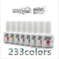 art honey - UV Gel Nail Art Salon Honey Girl Gelish ml Colors UV Gel Glitter Primer Top Coat Manicure Tips Soak Off Nail Polish Durable