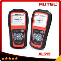 For Audi auto diagnosis scanner - Autel AutoLink AL519 OBDII EOBD Auto Code Scanner with modes diagnosis TFT color display Work on ALL and newer vehicles DHL free