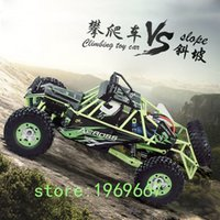 Wholesale High Speed CH Scale Model RC Off road Remote Control Buggies Climbing Car Children Electric SUV Stunt WLToys for Kids