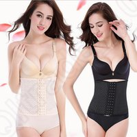Wholesale Women Body Shaper Corset Waist Trainer Training Shaper Body Shapewear Underbust Cincher Tummy Belt Slimming Belt OOA1182