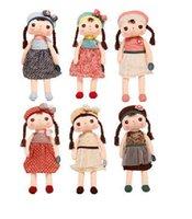 al por mayor una pieza de la muñeca-[Ping de una pieza de 38 cm muñecas lindas con caja de regalo Juguetes de peluche de bebé Juguetes de peluche para las niñas Baby Kids