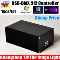 Wholesale China DMX512 Stage Light Controller Box HD512 Universal USB DMX Dongle Channels PC SD Offline Mode Martin MPC Lightjockey