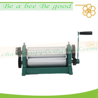 Wholesale 310mm wax foundation embosser aluminum alloy beeswax foundation machine