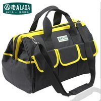Wholesale LAOA High Quality Multifunction Tool Bag Large Capacity Thicken Professional Repair Tools Bag quot quot quot Messenger Toolkit Bag