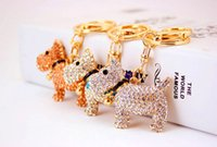 bell lighted compass - Strap dog bells dog birthday cute dog shepherd car key bag ornaments