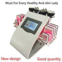 CE   Newest High Quality 40k Ultrasonic liposuction Cavitation 8 Pad LLLT lipo Laser Slimming Machine Vacuum RF Skin Care Salon Spa Use Equipment