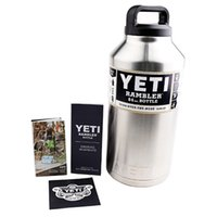 Stainless Steel beer bottle tray - Hottest YETI oz oz oz YETI Cups beer Thermos bottle Colster Rambler Tumbler Stainless Steel DHL free shopping