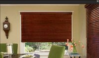 Wholesale WOOD WOODEN VENETIAN BLINDS REAL WOOD MADE TO MEASURE CM CM WIDTH SLATS