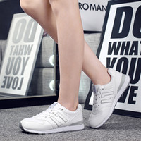 The Student Ladies Leisure Shoes Fashion Trend Comfort Chaussures de sport Light Wear-Resisting The Spring And Autumn