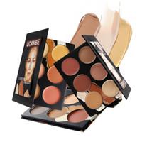 base face creams - UCANBE Cream Contour Palette Kit Pro Colors Concealer Makeup Palatte Face Primer Facial Care Camouflage Foundation Base