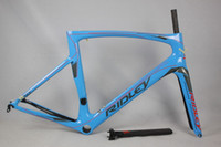 Wholesale Ridley chinese carbon bike frame c wheel bicycle frame new painting carbon road frame with shpping