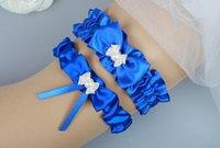 Wholesale Sapphire bride s garter bride ruthlessly wedding dress accessories Hip wedding supplies HT0109