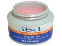Wholesale 56832 IBD Pink LED UV HARD Builder Gel DEL UV Construction Rose Roze Constructor Rosa Ricostruttore g oz
