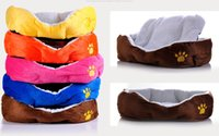 Wholesale 4pc Gift Cute Warm Soft Comfortable Pet Dog Cat Bed mat pad Style Sleep Free P03