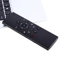 Wholesale TZ MX9 M Ghz Wireless Mini Rechargeable Keyboard Air Mouse Remote Control with IR Learning Mode For Smart TV Box PC Smart TV