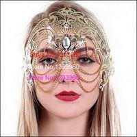 masquerade masks laser cut - Black White Gold Silver Rose Gold Phantom Inspired cosplay Venetian Masquerade Laser Cut Chain Phantom Mask w Bk gold Chain