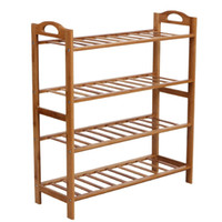 Wholesale Bamboo Shoe Rack Tier Entryway Shoe Shelf Storage Organizer