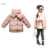 Cheap Children Winter Jackets For Girls Boys Outerwear Duck Down Coat Padded Kids Toddler Snowsuit minnie Infant Snow wear Parka 2-8Y