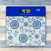 Wholesale 7 colors High quality bathroom scale weight scale portable human body electronic scale convenient and cheap