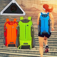 Wholesale Outdoor sports Backpacks hiking Climbing fashion shoulder bags waterproof three colors high quality backpacks