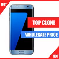 Wholesale TOP Clone Goophone s7 edge phone G LTE Octa core inch IPS Curved Screen G RAM G ROM add GB MP Camera