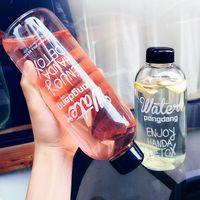 beauty pe - PongDang Water Portable Cups Natural Fruit Tea Detox Beauty Glass Cup Transparent Plastic Tumblerful Hot Sale xt2