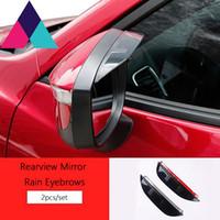 Wholesale Fit For Mazda CX Auto Rear View Side Rain Sun Shield Water Guard Eyebrow
