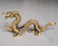 antiques art collectibles - China antique bronze bronze sculpture dragon jewelry Longba world wealth and power to ward off evil spirits and Collectibles