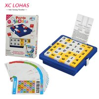adult math - Sudoku Memory Chess Game Children Board Game Adult Math Toys Number Puzzle Cube Table Game Kids Learning Educational Toys