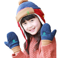 Wholesale South Korea KK tree children s gloves winter thick lamb boy baby baby gloves warm baby gloves