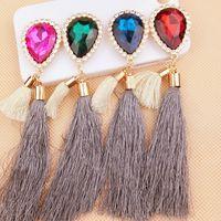 beauty drops materials - 2016The new gem drop tassel following accessories diy jewelry accessories The mobile phone s accessories Phone beauty materials