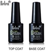Wholesale Belen ml set Base Coat Top Coat Set Nail Primer Gel Topcoat UV Gel Nail Polish to Nail Gel Lak Vernis Semi Permanent