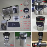 Wholesale 30oz Tumbler Clear Lid oz oz oz Cups for Coolers Cup Sports Mugs Large Stainless Mug