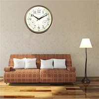 Wholesale New Arrival inch Silent Wall Clocks Modern Designs With Temperature Humidity Kitchen Clock