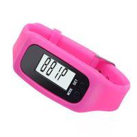 Sport Unisex Not Specified Digital LCD Pedometer Watch Run Outdoor Step Walking Distance Calorie Counter Bracelet Watch Sport Watches Women Watch Men Clock
