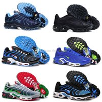 Wholesale Factory Mens Casual Tn Shoes Top Quality Cheap Basket Tn Requin chaussures Outdoor Fashion Kids Shoes Mesh Tn