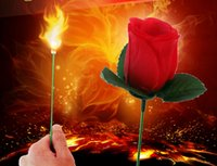 Wholesale Magic Props Torches Change Into Rose Set Meal For Beginner Gift For Seducing Girls