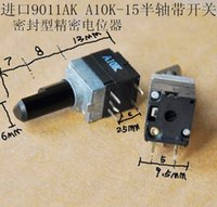 axle seals - AK sealed type Precision adjustable potentiometer with switch A10K MM Axle Electronic Component
