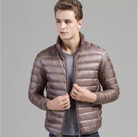 Wholesale 2016 thin thin coats male collar men plus size men s men s winter coat