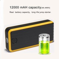 Wholesale coolACC Car Jump Starter with mAH for V Cars can Charge Mobile Phone Laptos Emergeny Battery Power Bank T7S Yellow