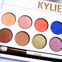 Wholesale Hotsale Kylie The Royal Peach eyeshadow Palette KYLIE kyshadow Makeup Kit Kylie Jenner Cosmetics Eyeshadow Gold Red Free DHL