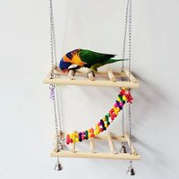 Wholesale Hot Sales Birds Parrot Hanging Chew Toys Budgie Cockatiel Climbing Rack Playing Pecking Toy CM JJ0208
